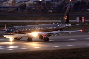 Royal Jordanian Embraer E195