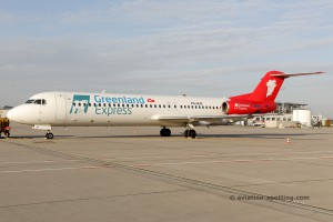 Greenland Express (Denim Air) Fokker F100