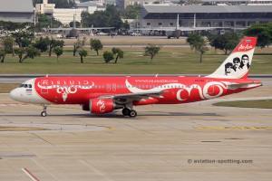 Thai AirAsia Airbus 320 (Thailand)