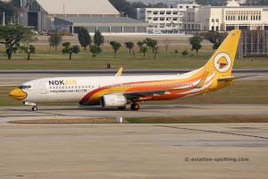 Nok Air Boeing B737-800 (Thailand)