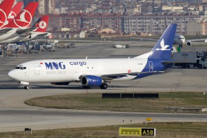 MNG Airlines Boeing B737-400F (Turkey)