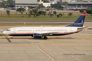 City Airways Boeing B737-400 (Thailand)