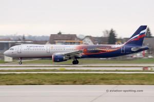 Aeroflot Airbus 321 (Russia)