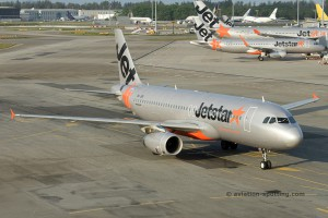 Jetstar Asia Airways Airbus 320 (Singapore)
