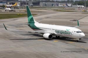Biman Bangladesh Airlines Boeing B737-800