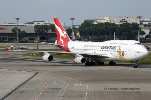 Qantas Airways Boeing B747-400 (Australia)