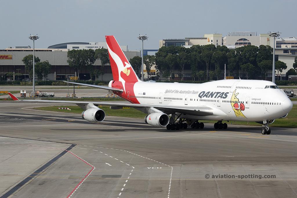 Qantas Airways Boeing B747-400 (Australia)