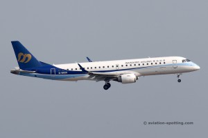 Mandarin Airlines Embraer E190 (China)