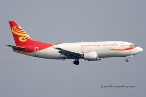 Yangtze River Express Boeing B737-300F (China)
