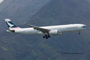 Cathay Pacific Airbus 330-300 (China)