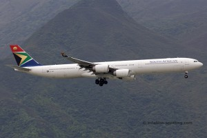South African Airways Airbus 340-600