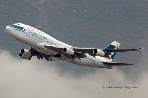 Cathay Pacific Boeing B747-400 (China)