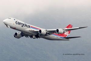Cargolux Boeing B747-8F (Luxembourg)