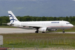 Aegean Airlines Airbus 320 (Greece)