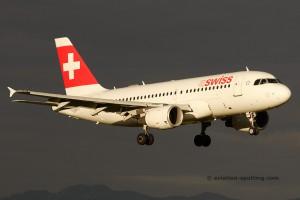 Swiss European Airlines Airbus 319