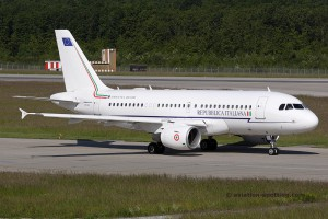 Italian Air Force Airbus 319 CJ