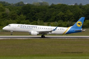 Ukraine International Airlines Embraer E190 (Ukraine)