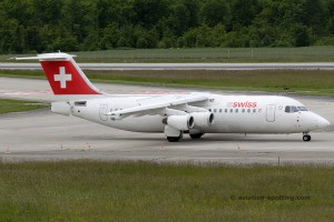Swiss European Airlines BAe Avro RJ-100