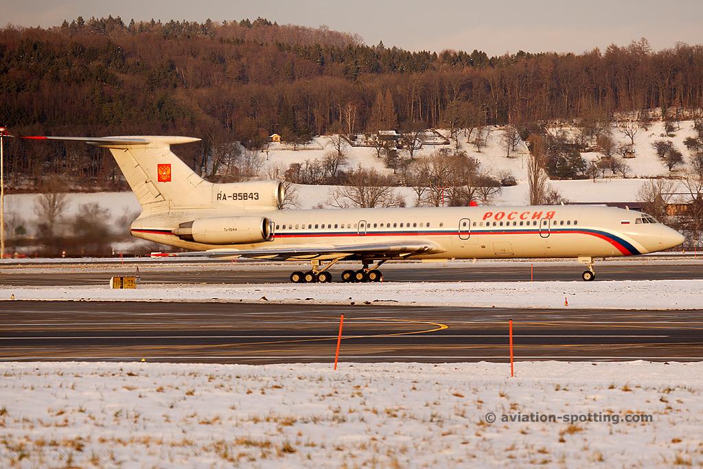 Rossiya – Russian State Transport Tupolev TU154