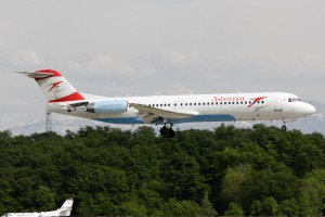 Austrian Airlines Fokker F100