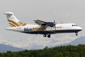 Blue Islands Aerospatiale ATR42 (Guernsey/UK)