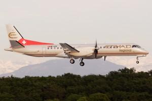 Etihad Regional (Darwin Airline) Saab2000 (Switzerland)