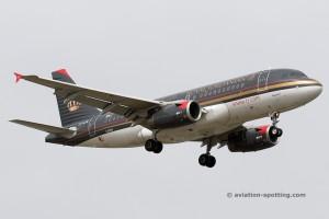 Royal Jordanian Airbus 319