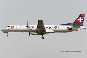 Darwin Airline Saab2000 (Switzerland)