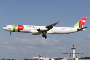 TAP Portugal Airbus 340-300