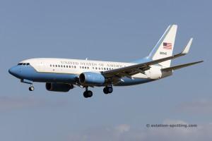 US Air Force Boeing C-40 Boeing B737-700