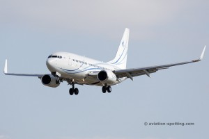 Gazpromavia Boeing B737-700 (Russia)