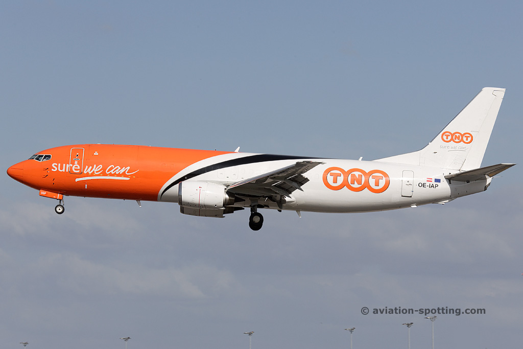 TNT Airways Boeing B737-400F (Belgium)