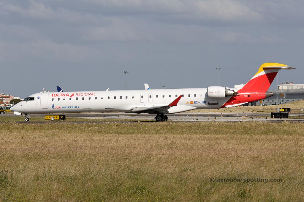 Iberia Regional (Air Nostrum) Bombardier CRJ900 (Spain)