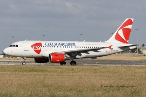 CSA Czech Airlines Airbus 319