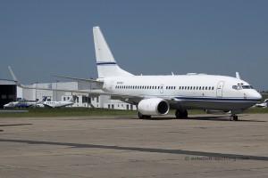 N737CC Boeing B737-700 BBJ Mid East Jet