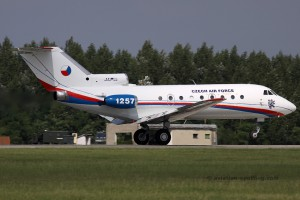 Czech Air Force Yakovlev YAK 40