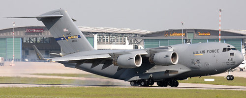 US Air Force McDonnel Douglas C-17 Globemaster III