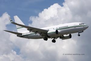 Boeing B737-700 BBJ