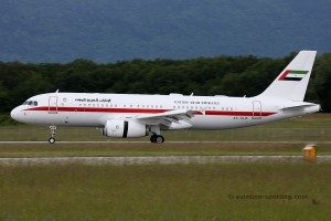 Abu Dhabi Amiri Flight Airbus 320 (UAE)