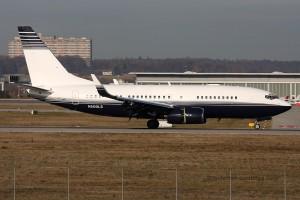 N500LS Boeing B737-700 BBJ Hayes Productions LLC