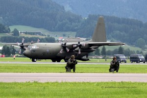 Austrian Air Force Lockheed L-100 C-130K Hercules