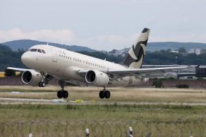 Al Jaber Aviation Airbus 318 Elite