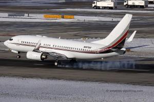 Netjets USA Boeing B737-700 BBJ