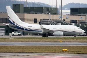 N836BA Boeing B737-700 BBJ