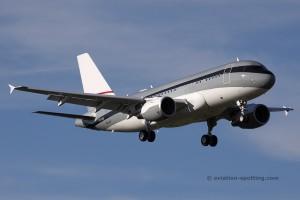 P4-MIS Private Airbus 319 CJ