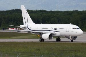 RAK Airways Airbus 318 Elite