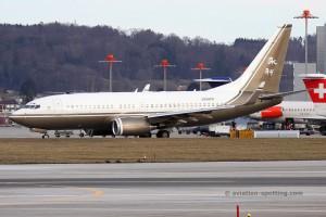 N88WR Boeing B737-700 BBJ