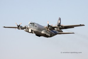 US Navy Lockheed L-100 C-130 Hercules