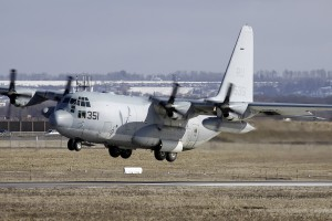 US Navy Lockheed KC-130T Hercules L-100 C-130