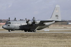 US Air Force Lockheed L-100 C-130E Hercules